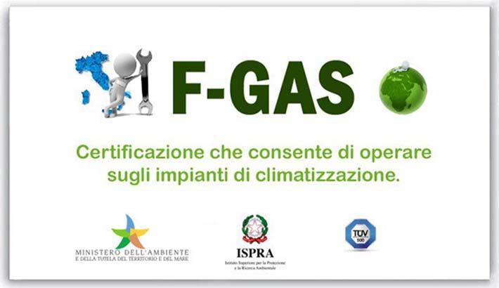 New clima s a s certificazione f gas a napoli e provincia - Certificazione impianto gas ...